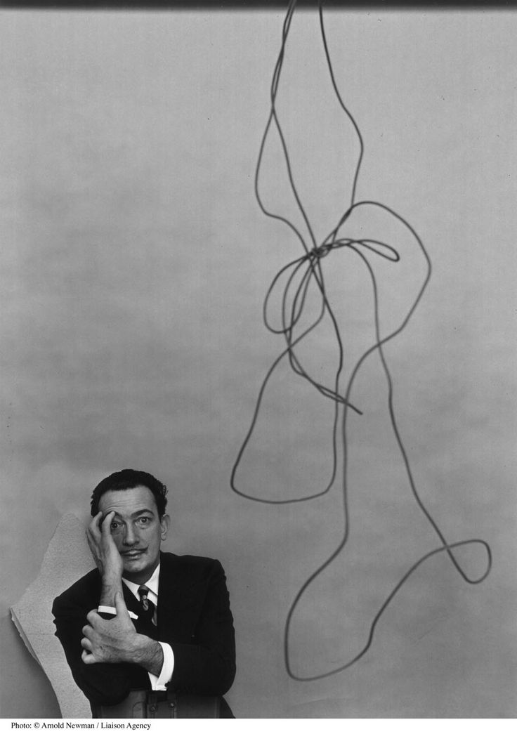 Dali by Arnold Newman.