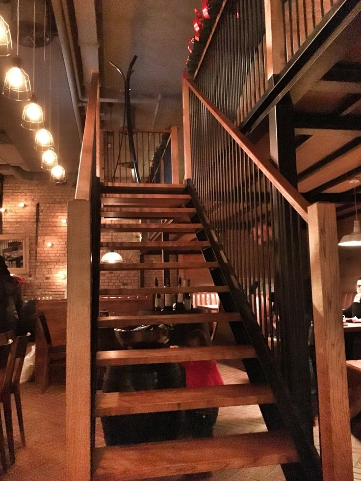 #architecture #design #grycaj #grycajdesign #restaurant #bochnia #salina #poland #polska #restaurantdesign #wood #steal #brick #woodenstairs