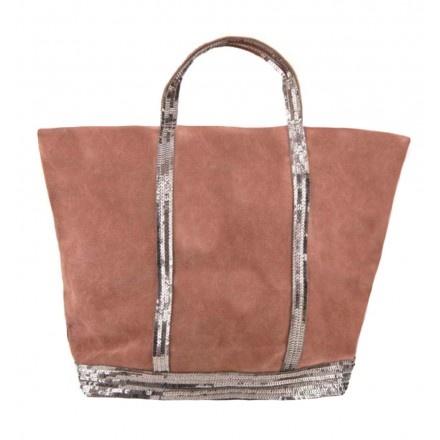 sac vanessa bruno paillettes cuir bois de rose mon style pinterest. Black Bedroom Furniture Sets. Home Design Ideas