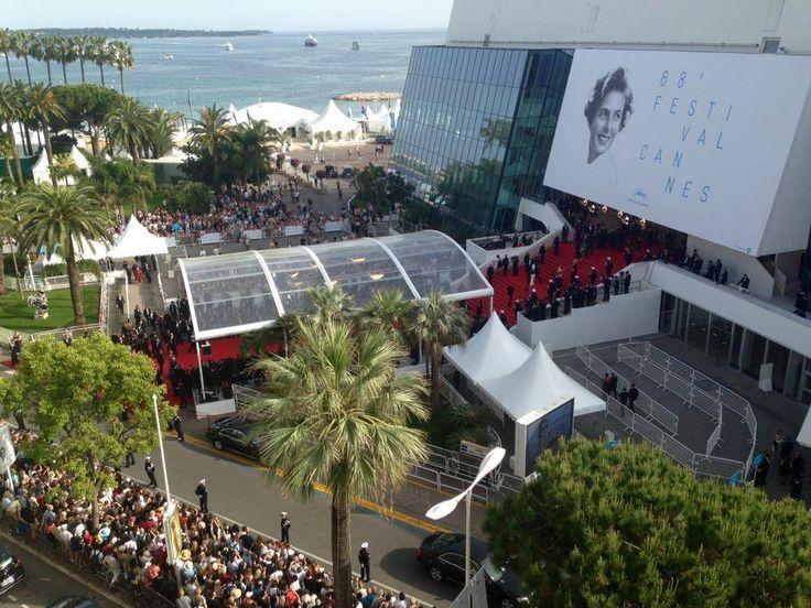 Vue sur le Festival #Cannes2015