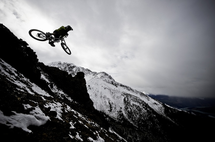 Heli bike in Bralorne BC for Kona bikes. Photo Blake Jorgenson