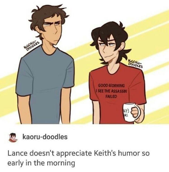 keith's smirk
