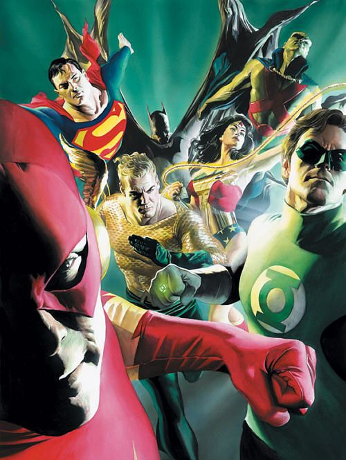 Justice League of Old -  Alex Ross