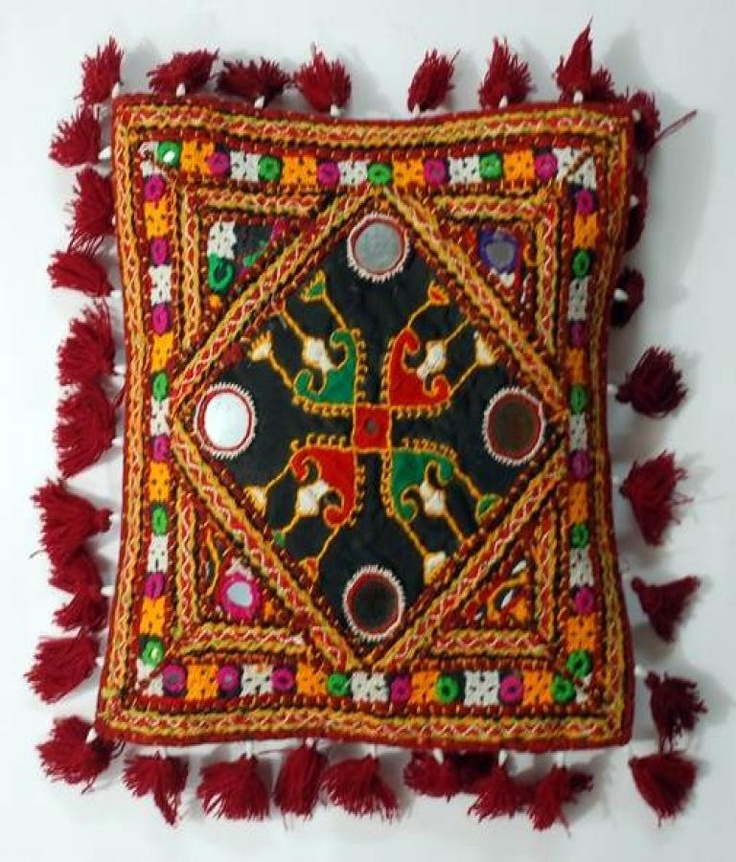 Villcart Cushion Cover  Kutch Cushion  Offer Price Rs.275/-