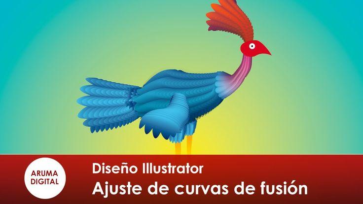 Illustrator 162 Herramienta fusión ajuste de curvas