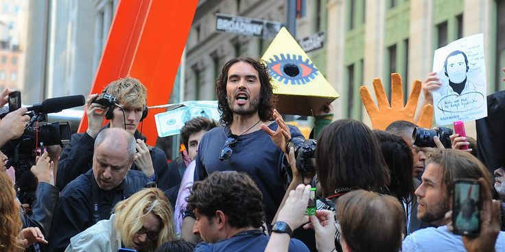 """Multimillionaire Russell Brand has said he is """"not interested in making money anymore"""" and that he is """"willing to die"""" to carry out his political revolution.  Brand said money makes him """"feel guilty"""" and that fame ..."""
