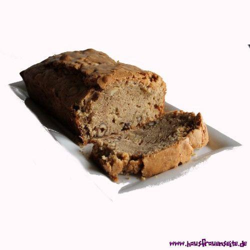 Saftiger Zimt-Apfel-Nuss Kuchen Der Nusskuchen ist sehr saftig und schmeckt hervorragend zur Weihnachtszeit. vegetarisch laktosefrei