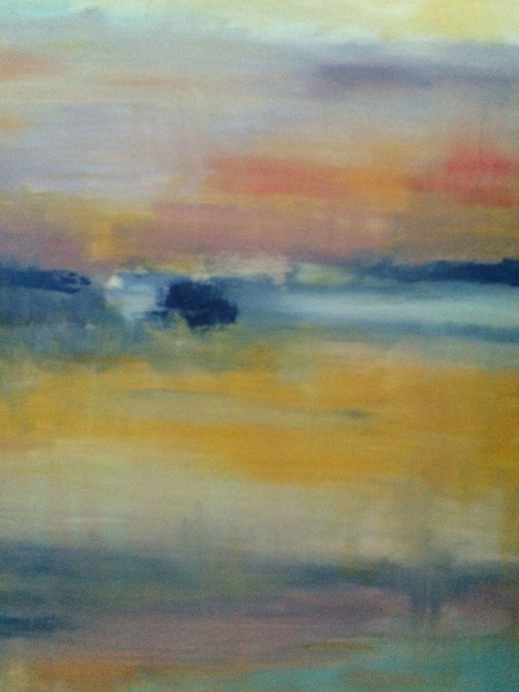 Dawn, Oil on canvas, 60x50