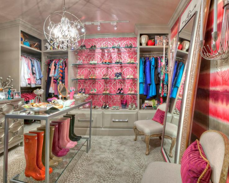 19 Luxury Closet Designs Pink ClosetWalk
