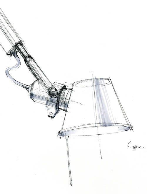 tolomeo_sketch_s001 #id #design #product #sketch