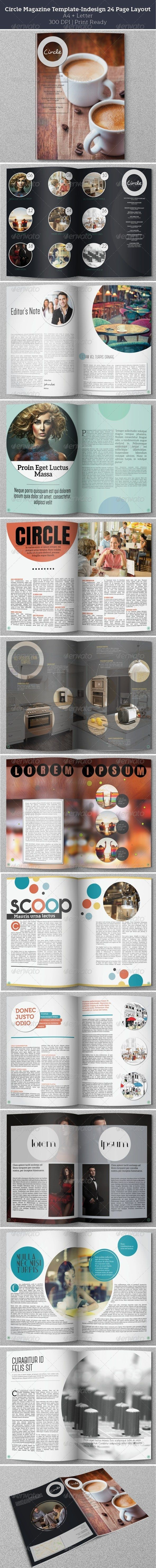 Circle Magazine Template-Indesign 24 Page Layout  http://graphicriver.net/item/circle-magazine-templateindesign-24-page-layout/6116724