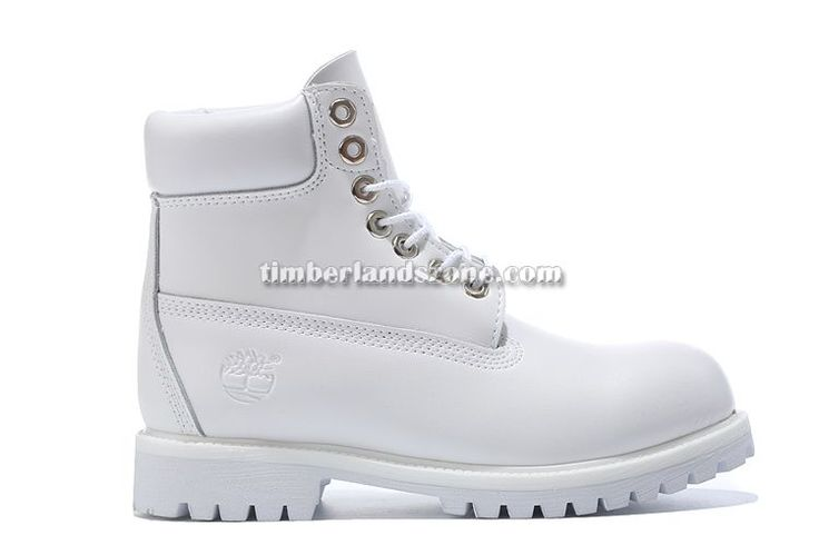 2017 New Men's Timberland 6 Inch Boots All White