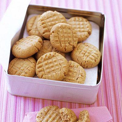 Martha Stewart's favorite Peanut Butter Cookie Recipe.