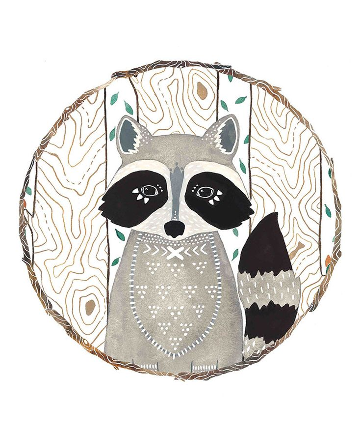 Popular items for raccoon illustration on Etsy