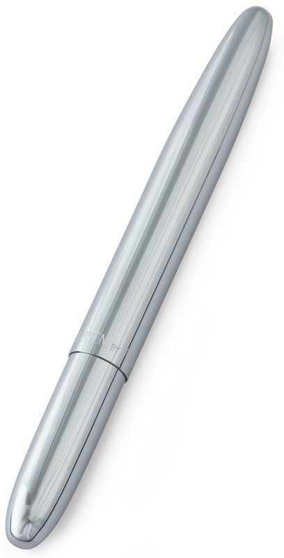 Fisher Space Pen. Writes upside-down, in harsh conditions (hot or cold), or even in zero-g!