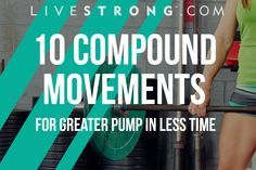 10 Compound Movements for Greater Pump in Less Time