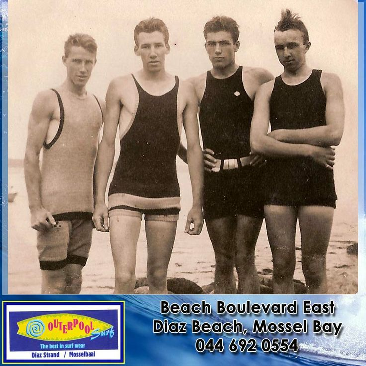 This was the fashion way back when. Interesting to see how it has changed since then. #fashion #mens #swimsuits