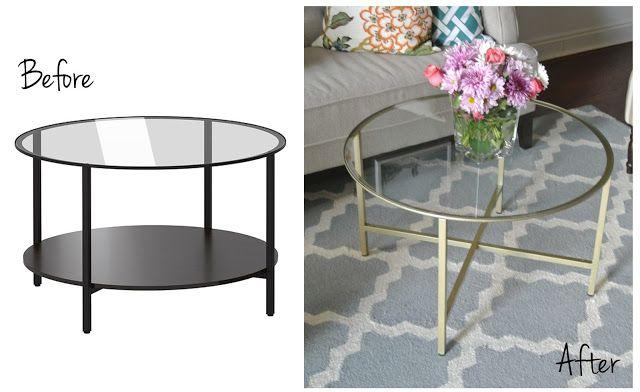 Ikea Hack : Vittsjo Coffee Table -- option for living room corner?