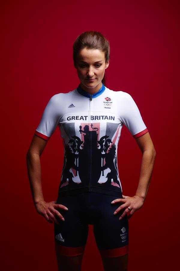 World champion Lizzie Armitstead in the new Team GB kit for Rio 2016 ‪