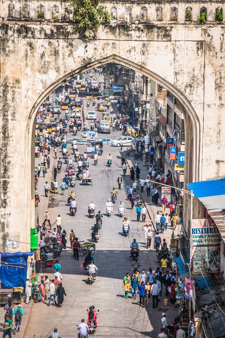The best places to visit in Hyderabad, India.