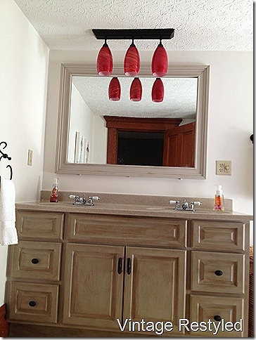 bathroom cabinets painted with homemade chalk paint annie sloan dark