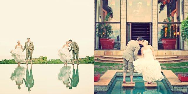 Dohane & Graeme Blake. Dream wedding at Zimbali Country Estate