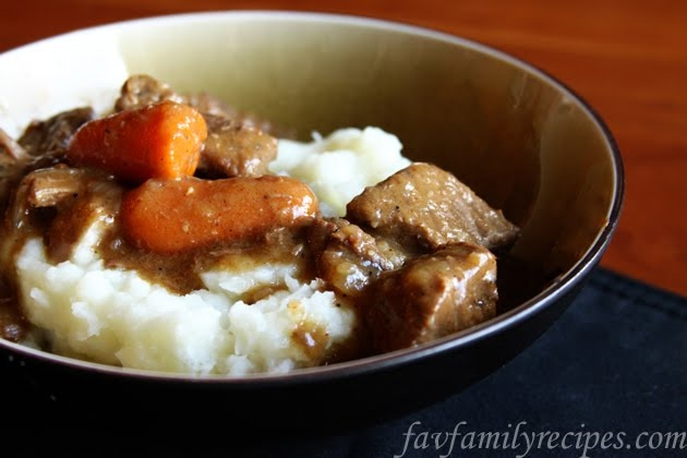Danish Goulash from favfamilyrecipes.com #goulash #danish #recipes