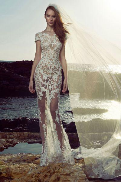 Vestidos de novia escote ilusión 2017: déjate seducir por la magia de este diseño Image: 54
