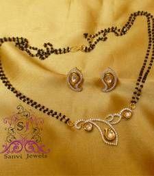 Buy Kundan Paisley Mangalsutra mangalsutra online