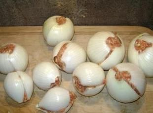 Onion bombs tenting meals