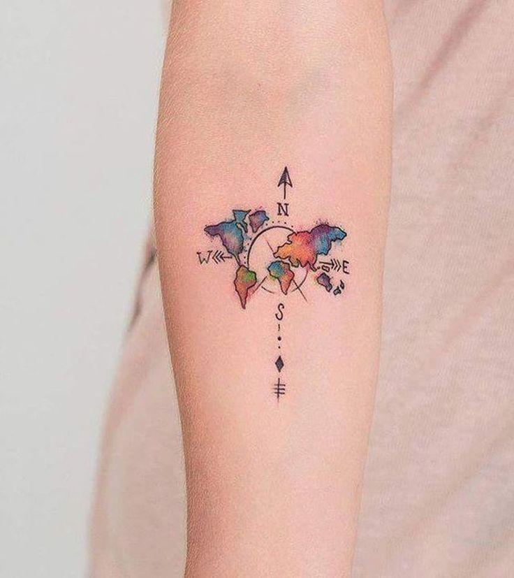 Pin on Tatuagens de Viagem