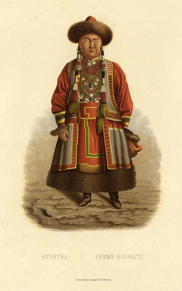 Woman from the russian far