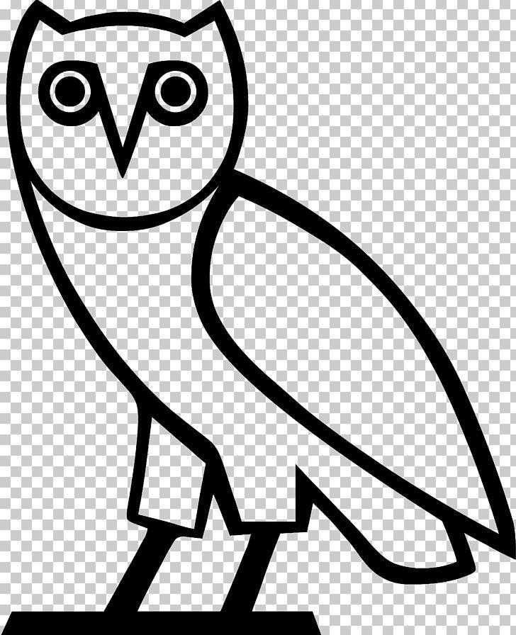 T Shirt Owl Logo Ovo Sound Decal Png Artwork Beak Bird Black And White Canada Goose Owl Logo Drake Tattoos Ovo Sound