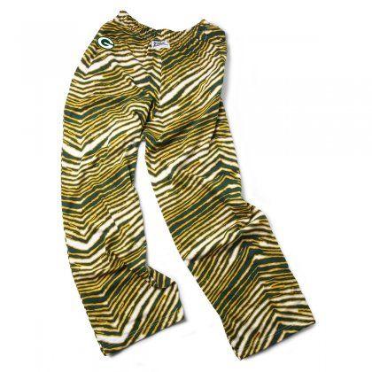 Green Bay Packers Green Gold Zebra Pant Zubaz Store Zebra Pant Logo Pants Black White Vintage