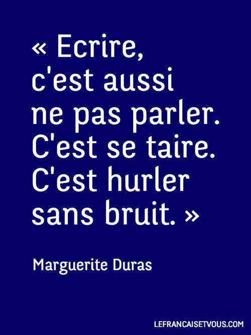 #Citation  de Marguerite Duras