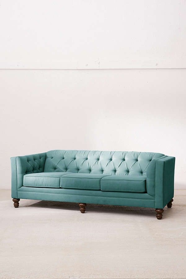 Slide View: 2: Graham Microfiber Sofa