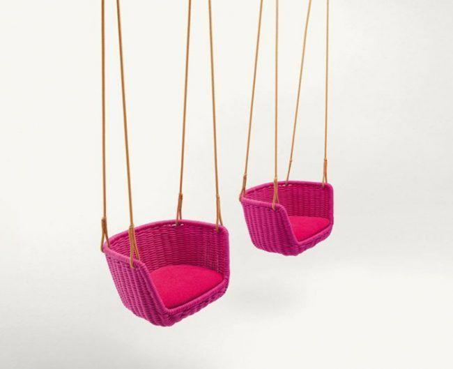 Swing Garden Design rosa Farbe – Barbara Auböck