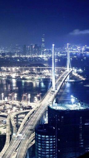 Stonecutters Bridge, Yi Peak, Hong Kong