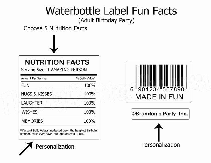 Water Bottle Label Size Template Great For Making Your Own Water Bottle Labels Template Label Templates Bottle Label Template