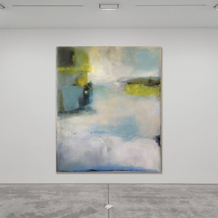 """Large scale abstract painting by Sharon Kingston, 60 x 72"""", oil on canvas. Sold through Addison Gallery, Delray Beach FL"""