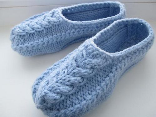 KnittedSlippers2 by kelly.koob, via Flickr