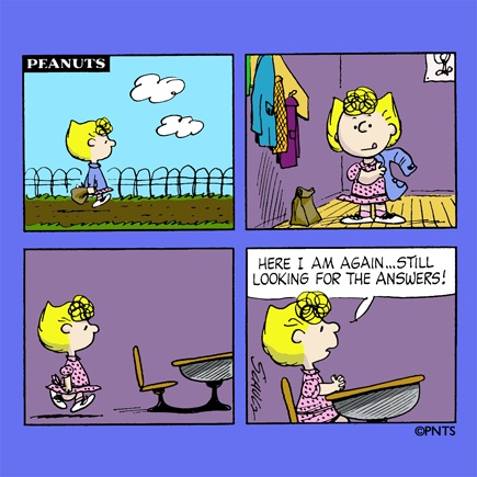 """Here I am again..still looking for the answers!"", Sally Brown.                                                                                                                                                                                 More"