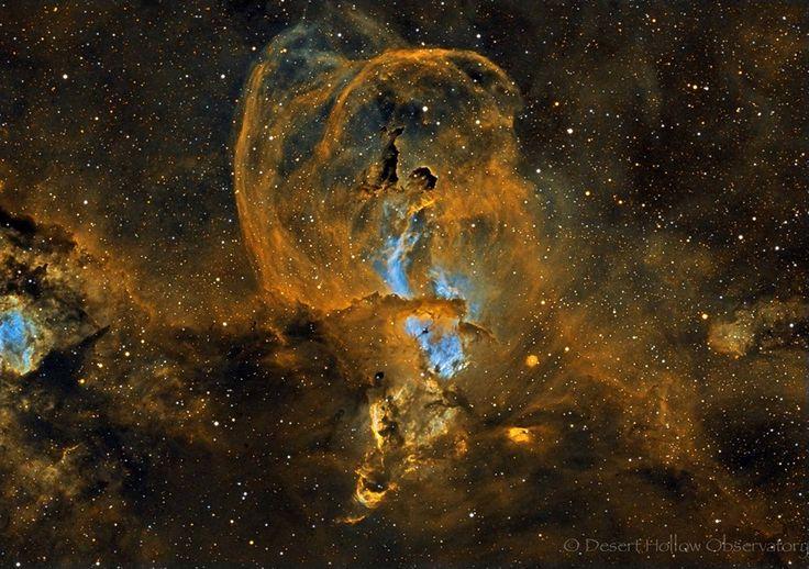 La région de formation d'étoiles NGC 3582