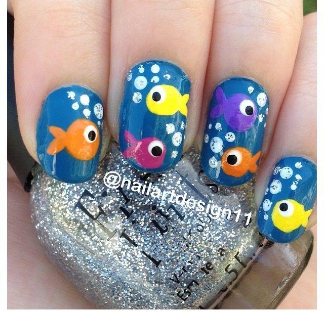 - Fish Nails 🐠🐟 Nails Pinterest Fish Nails, Nails And Nail Art