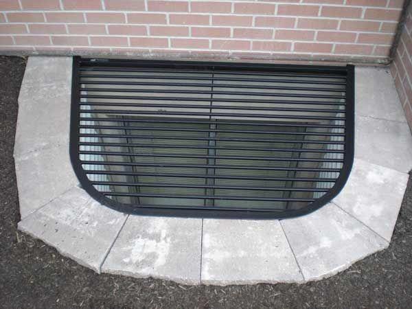 Modern Basements Basementliving Brightbasement With Images Basement Windows Window Well Cover Basement Window Well