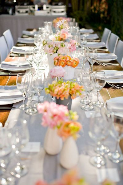 Stef, for your BBQ, can we please, please do long tables? Everyone does circle tables, and it would amazing to do a few long sets of tables to do something different.  Yes, please.