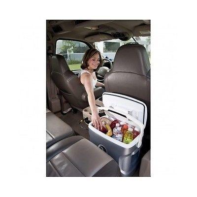 Iceless Travel Cooler Car Refrigerator Portable Fridge Thermoelectric 12V DC 28Q