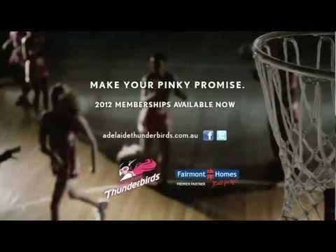 Love the Adelaide Thunderbirds? Check out the Adelaide Thunderbirds TV Commercial!
