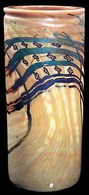 TWELVE CROSS CYLINDER   1976   Blanket Cylinders Series   Artist: Dale Chihuly