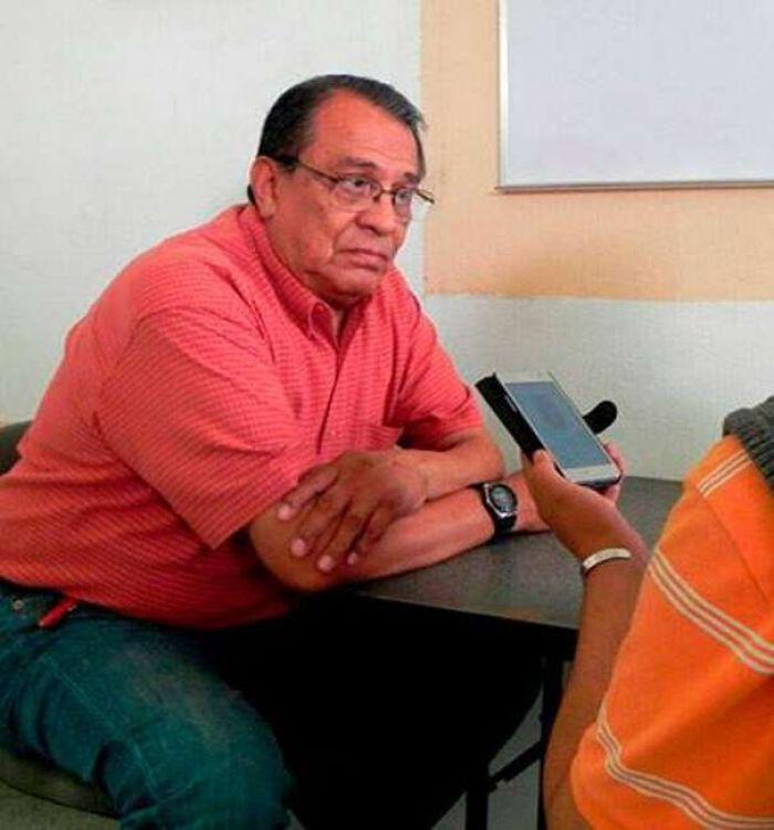 Periodista mexicano Maximino Rodríguez Palacios, reportero de la nota policiaca del Colectivo Pericú, asesinado este sabado en La Paz, capital del estado de Baja California Sur, Mexico.